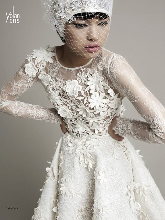 Vestidos de novia 2014 alta costura - Foto YolanCris