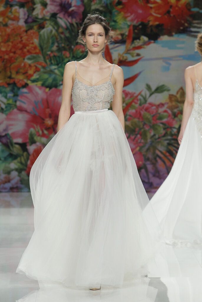 Foto: Galia Lahav en Barcelona Bridal Week