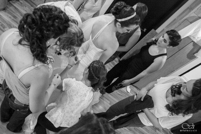 Optimiza mejor los tiempos de tu boda ayudándote de tu cortejo - Foto Arturo Ayala
