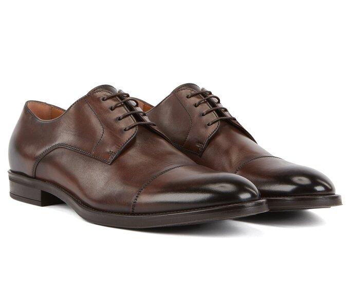 Zapato para novio modelo Derby o Blucher