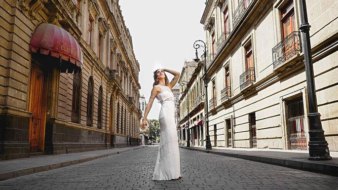 Débh Herrera vestidos de novia Ciudad de México