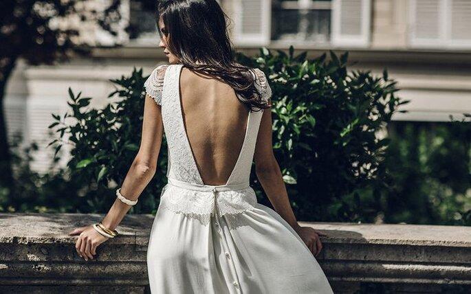 2- Laure de Sagazan, Wedding dress inspirations wedding planner Paris-versaille-france