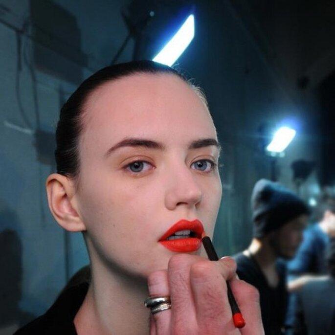 Maquillaje de novia de moda en el 2013 - Foto MAC Cosmetics Facebook