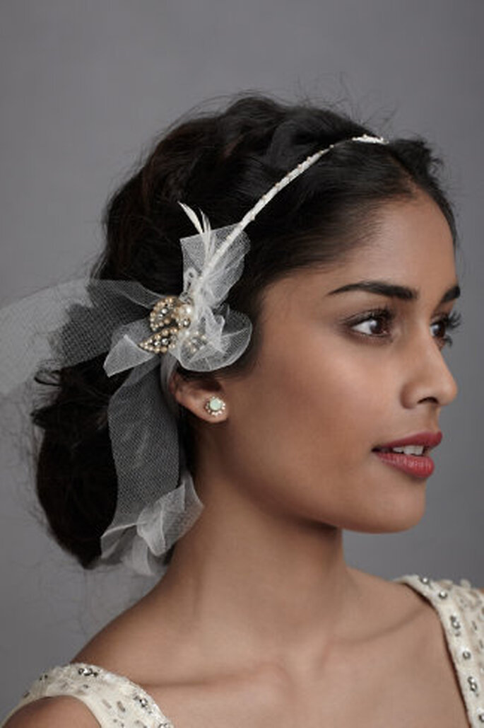 Brautfrisuren seitlich gesteckt - Brautfrisuren Trends 42