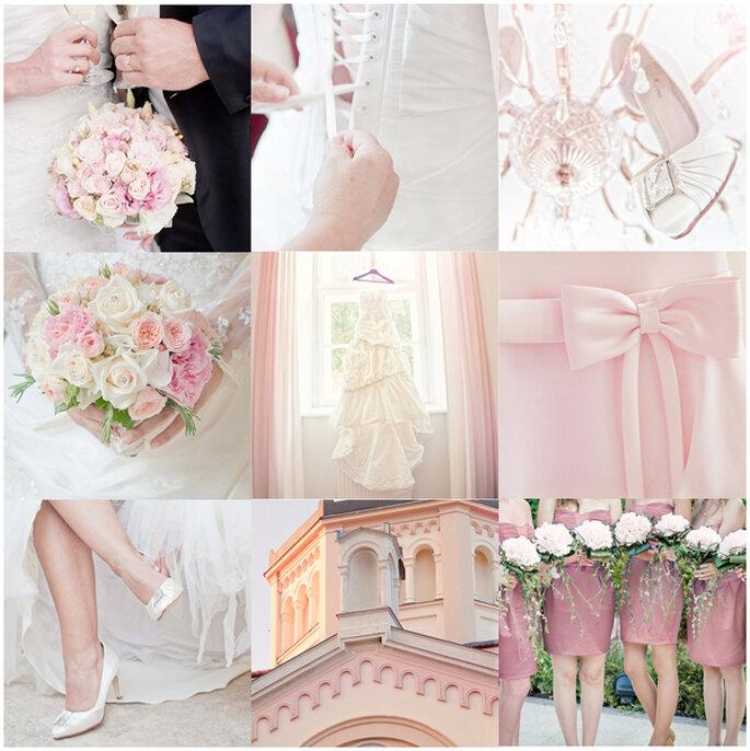 Los mejores acentos de color rosa para decorar tu boda - Foto Llaszlo via shutterstock