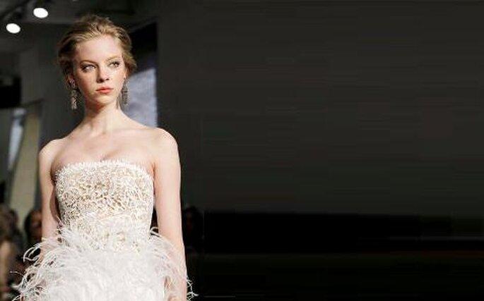 Colección de vestidos de novia cortos Óscar de la Renta 2011