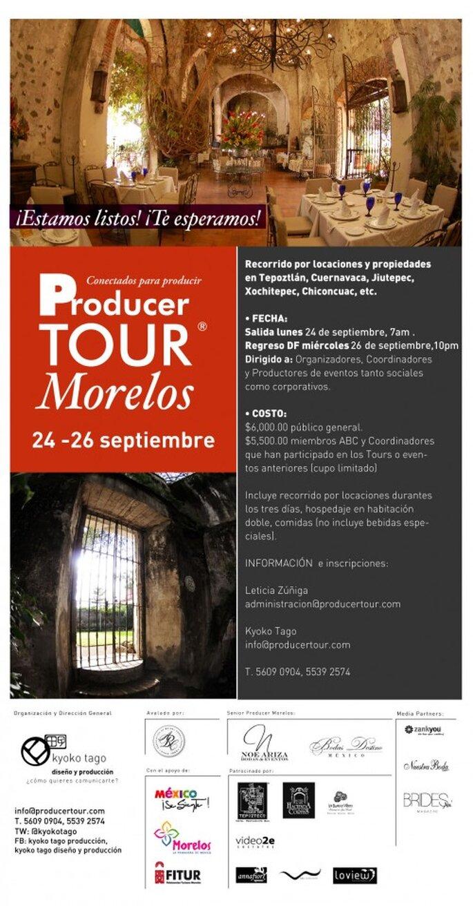 Producer Tour Morelos, Septiembre 2012