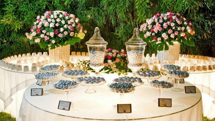 confettata e fiori per un matrimonio italiano