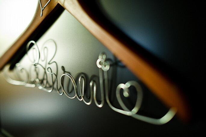Kleiderbügel der Braut. - Foto: jonpride.com
