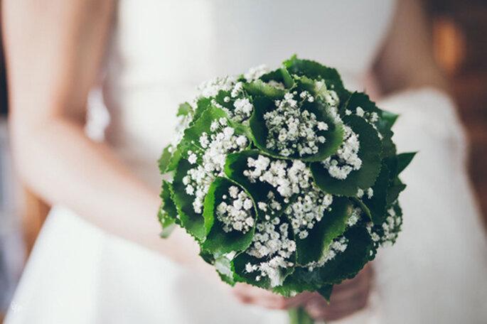 Bouquet de mariée automnal : une pure merveille - Photo: Nano Gallego