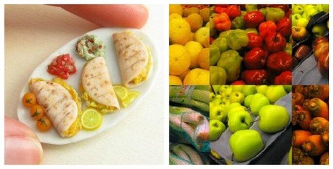 Seis pequeñas comidas durante el día
