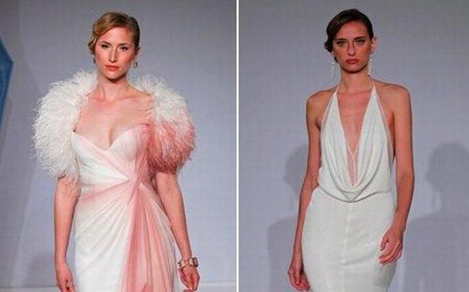 Acconciature da sposa vintage alle sfilate primaverili 2013 di Mark Zunino