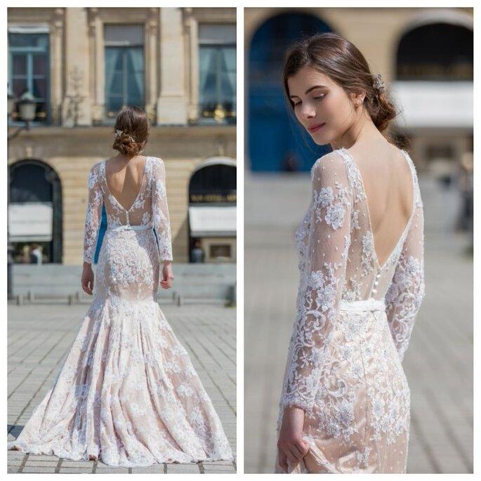 Robe de mariee italienne haute couture