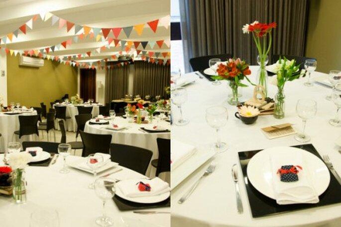 La festa di fidanzamento ha solitamente decorazioni semplici e può svolgersi in spazi diversi. Foto: Henrique Schaefer