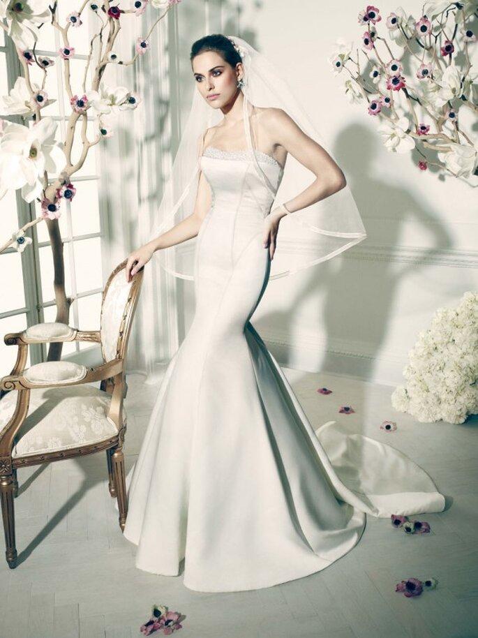 """Vestidos de novia de la colección """"Truly"""" by Zac Posen"""