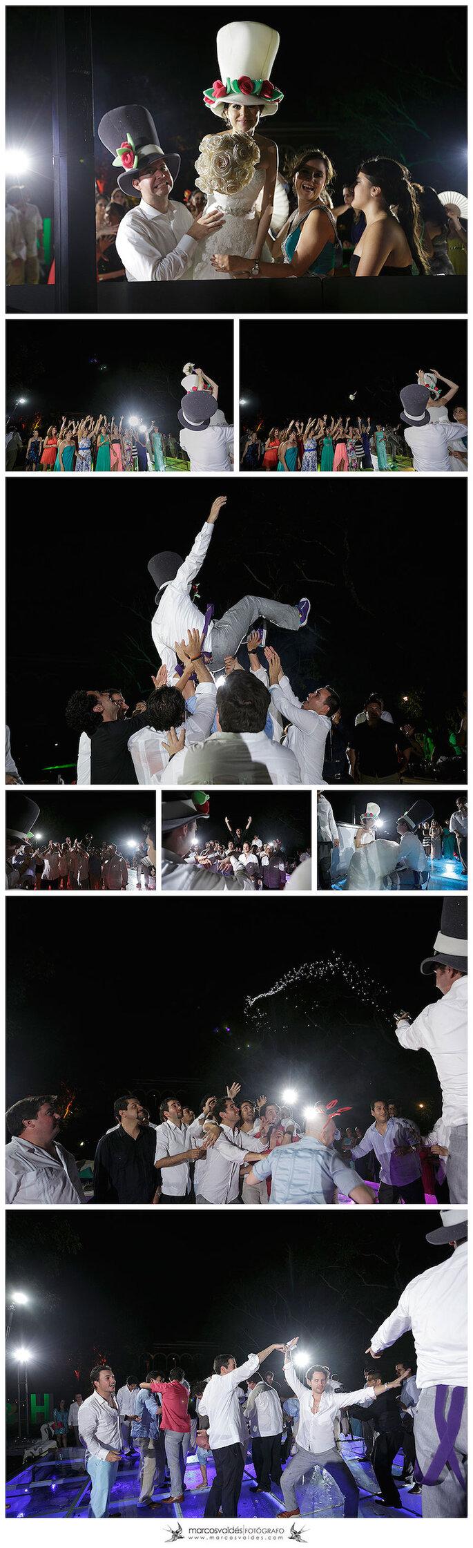 La boda de Eli y Héctor en Hacienda Temozón - Foto Marcos Valdés
