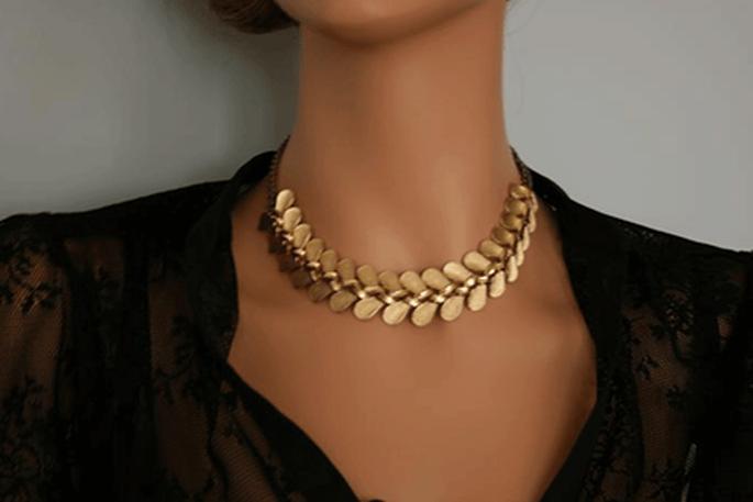 Collana di foglie by Portobello jewelry
