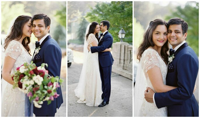 Sara + Shiv´s Wedding, Image: Jose Villa Photography