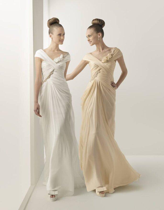 Vestido de Noiva Rosa Clará 2012 - modelo Hamburgo