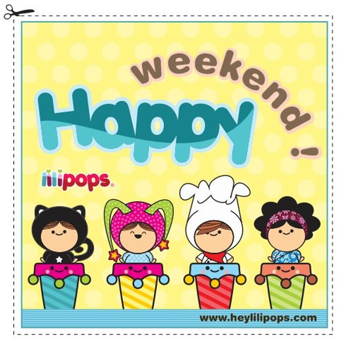 Encantadores personajes del mundo Lilipops. Foto: www.heylilipops.com
