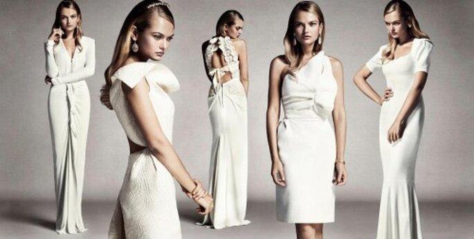 Colección exclusiva de vestidos de novia Roland Mouret - Foto Roland Mouret