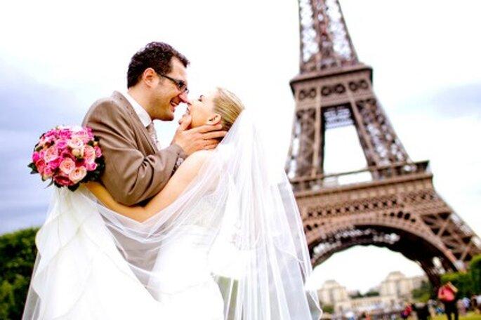 Hochzeit in Paris. Foto: (c) Katja Schünemann. www.ks-weddings.de