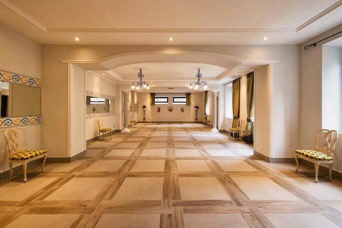 Gli interni di Villa Buon Viaggio TRIP&CO