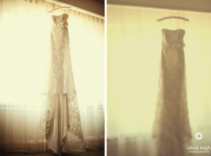 El vestido de novia perfecto para tus fotos de boda estilo vintage - Foto Olivia Leigh