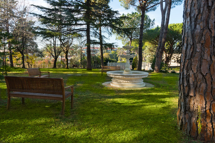 Green Park Hotel Pamphili - Parco