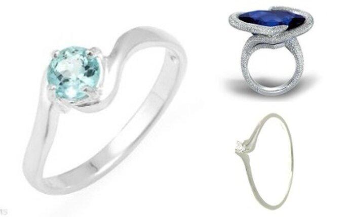 Bijoux pour futures mariées et signe du zodiaque : topaze, saphir et diamant