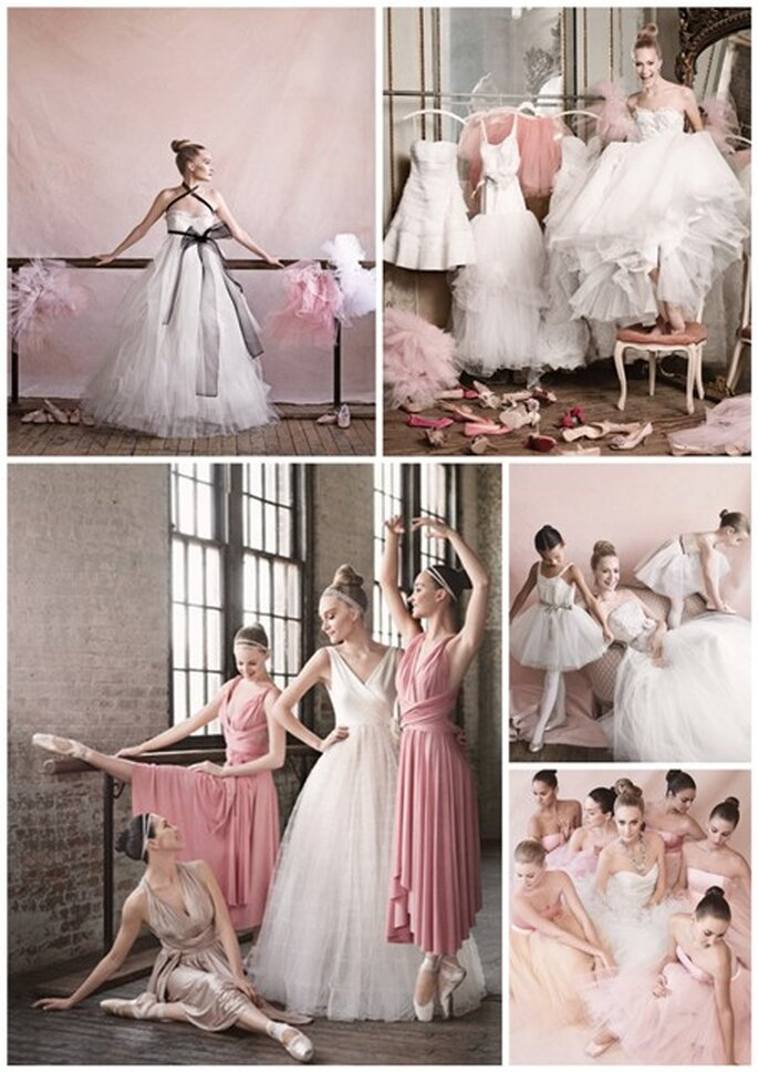 Vestidos de novia estilo bailarina - Martha Stewart Weddings