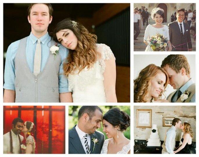 Die große internationale Hochzeitsumfrage von Zankyou                                                Fotos: Unten links/ oben rechts One Love Photo, restliche Fotos von Alea Lovely