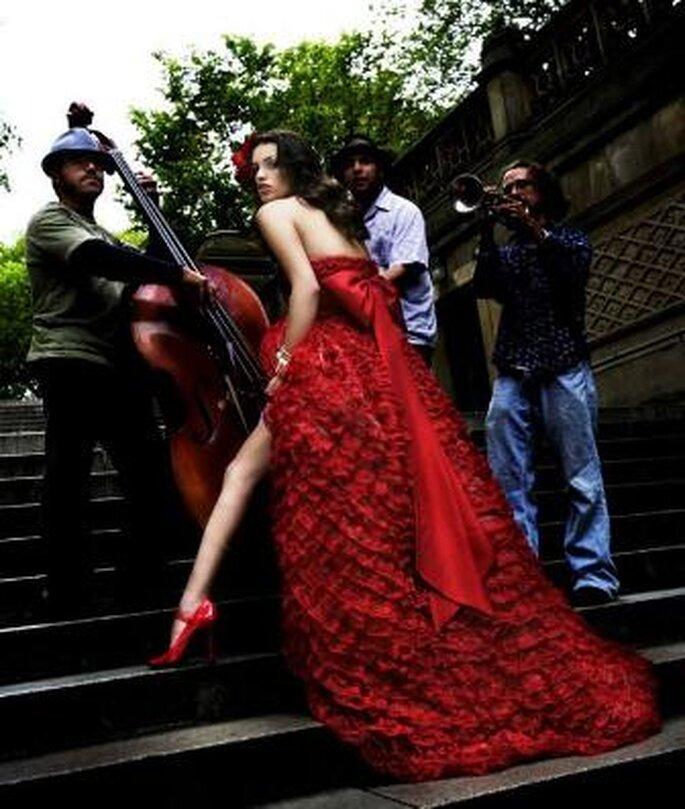 Vestidos de Noiva Vermelhos - Reem Acra