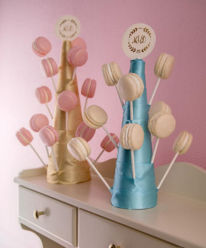 Tutoriel support pour macarons, décoration de mariage