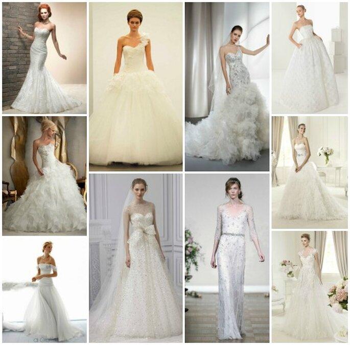 I 10 migliori abiti da sposa per il 2013 secondo la redazione di Zankyou