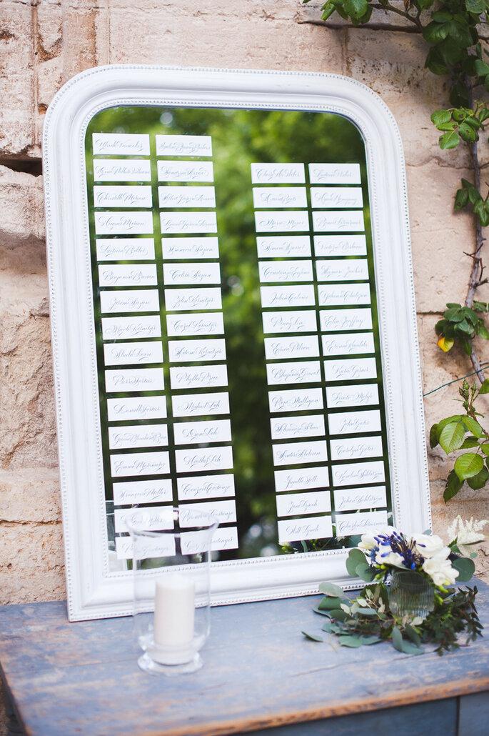 Espejos para la decoración de boda - Marion Heueteboust