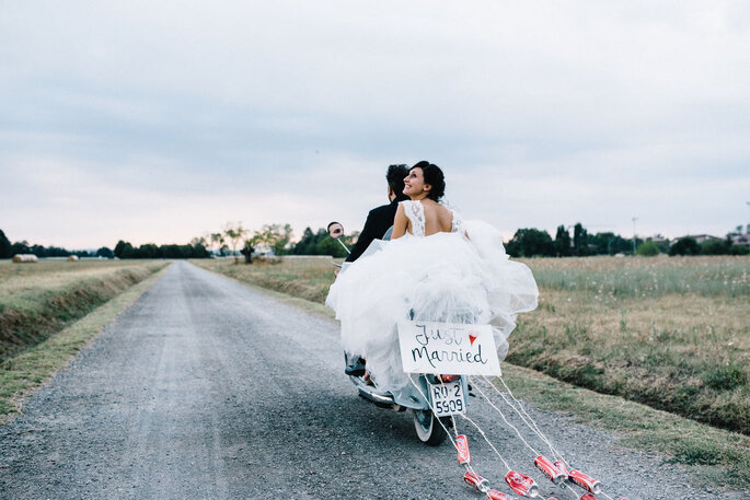 Agnese Spina Imagery - sposi in moto