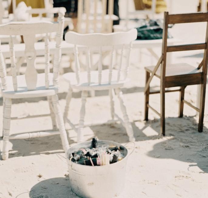 Montajes perfectos para una boda en la playa - Foto Byron Loves Fawn