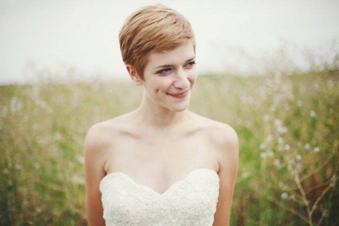 El pixie, un estilo súper chic para tu peinado de novia - Josh Dookhie