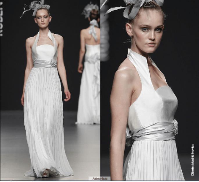 Vestido Andranica, colección 2012 Rubén Perlotti