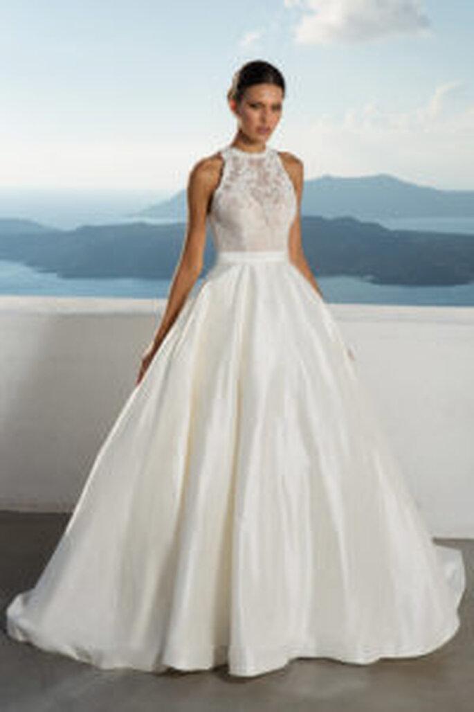 Brautkleider von Justin Alexander.
