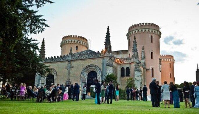 La celebración en el Castillo de Viñuelas-Foto: Adrián Tamadín