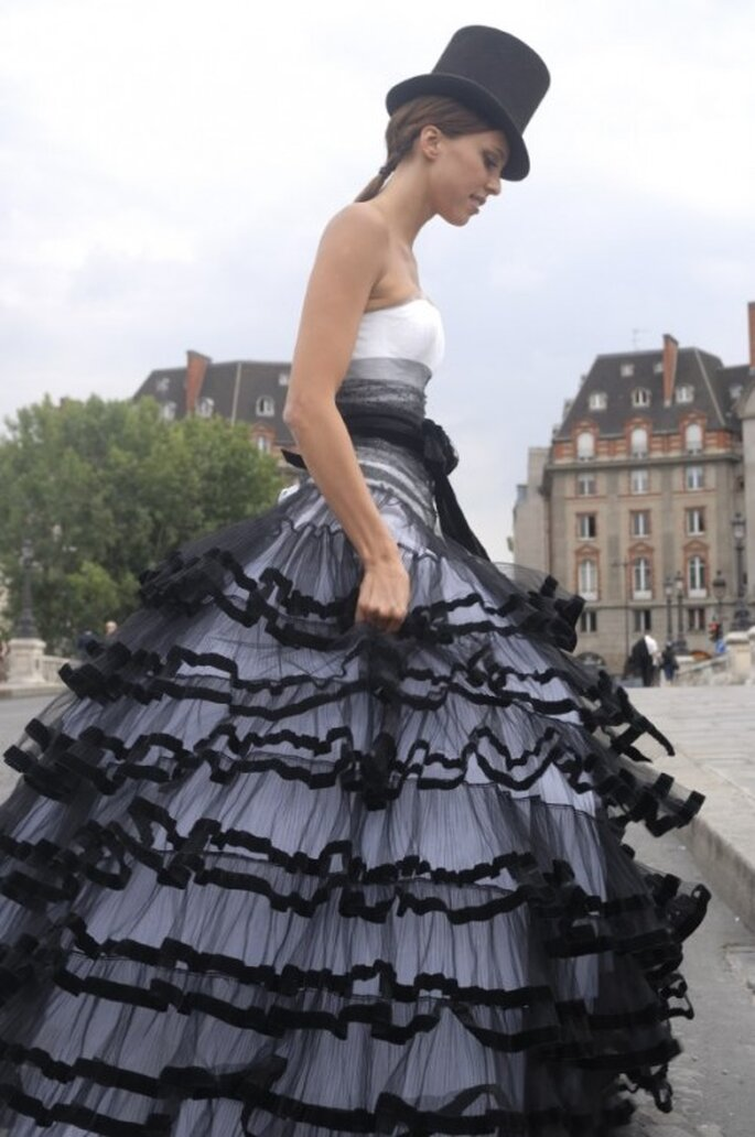 Vestidos originales. Foto: Max Chaoul, Couture Paris. http://www.maxchaoulcouture.com
