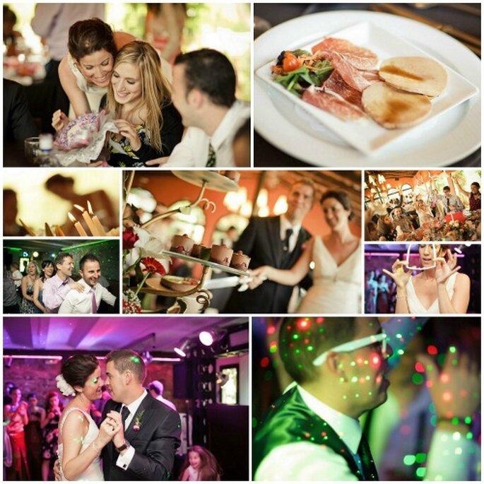 Ceremonia, recepción y banquete, todo en un mismo lugar