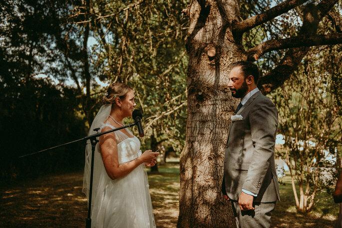 cérémonie laïque- mariage champêtre en Lot-et-Garonne dans le jardin familial