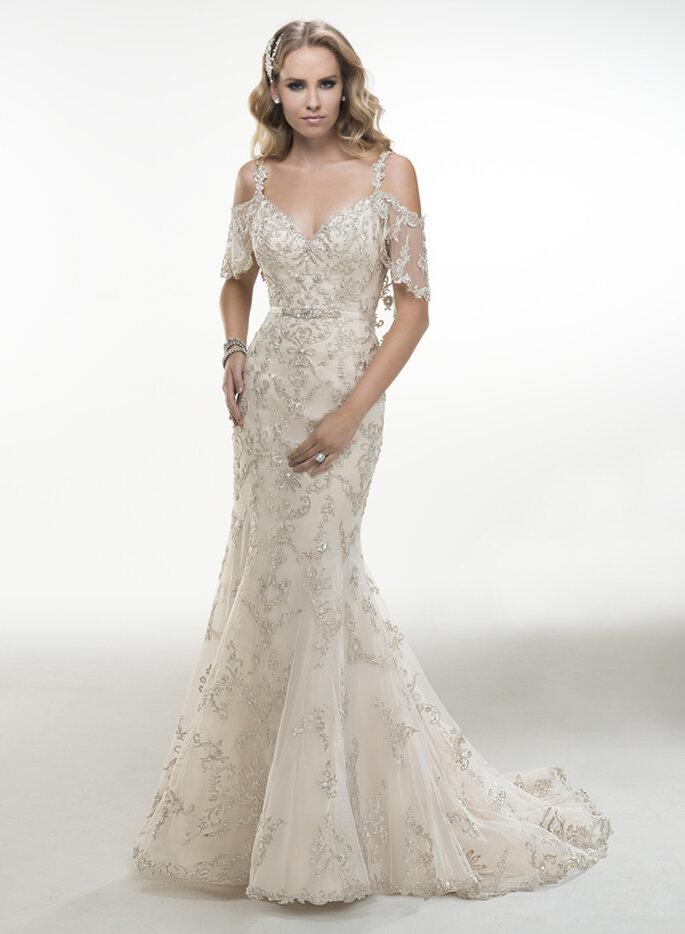 Vestidos de novia de Maggie Sottero con una fusión del Art Deco y ...