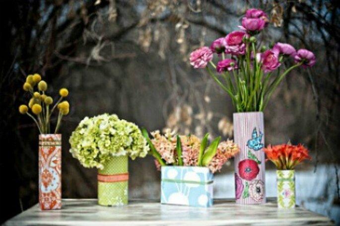 Elige una decoración para la boda a tu medida