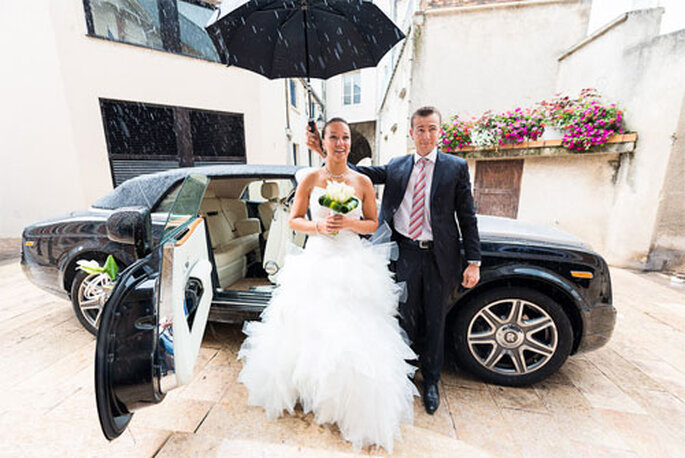 Real Wedding Anne Lyse et Nicolas - Photo : Xavier Bescond