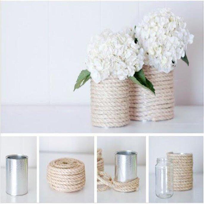 Foto via A hand craft wedding