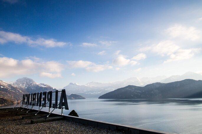 Blick auf den Vierwaldstätter See.